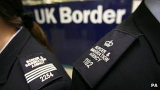 UK Border Agency Staff