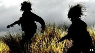 45 Commando training in Dundee