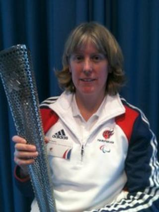 Alison Nagata, Paralympic torch bearer
