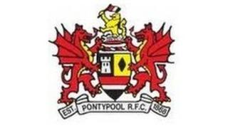 Logo Clwb rygbi Pont-y-Pŵl