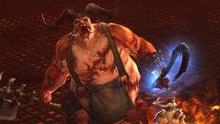 Screen shot from Diablo III