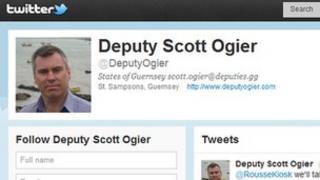 Deputy Scott Ogier's Twitter page