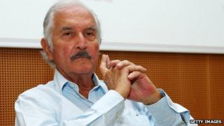 Carlos Fuentes in a file photo from 2008