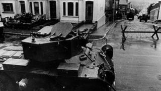 Operation Motorman was carried out in Londonderry in 1972