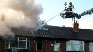 Fire in Burnage