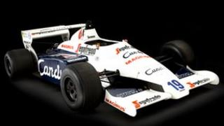 Ayrton Senna's Toleman TG