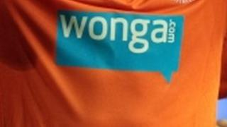 Wonga sponsorship on shirt