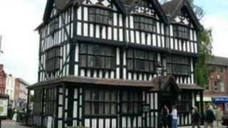 The Old House in Hereford High Town