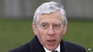 Blackburn MP Jack Straw