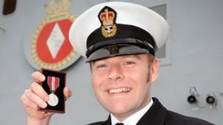Chief Petty Officer Brian Diamond