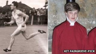 John Fairgrieve (l) and Kit Fairgrieve Pick