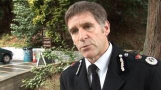 Isle of Man Chief Constable Mike Langdon