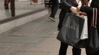 Zara shoppers