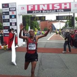 Winner of Bristol 10k