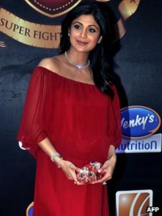 Bollywood actress Shilpa Shetty