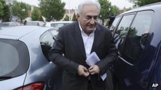 Ex-IMF head Dominique Strauss-Kahn (6 May 2012)