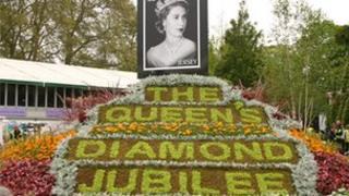 The Jersey Jubilee garden