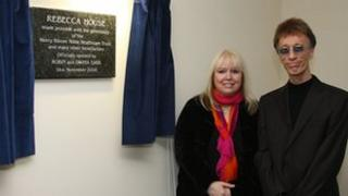 Robin Gibb and his wife Dwina opened a hospice facility for children in 2008