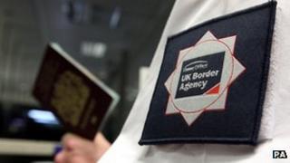 Border Agency officer
