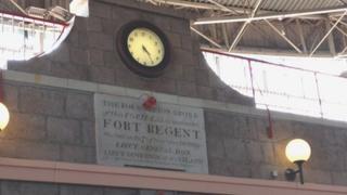Inside Fort Regent