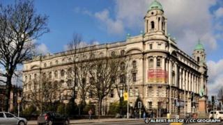 The Belfast Tech Building