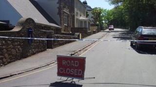 Rue De Braye road in Alderney