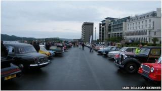 BBC Radio Devon's Motor Rally 2011 (pic: Iain Dilligaf Skinner)