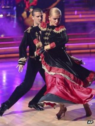 Katherine Jenkins a Mark Ballas