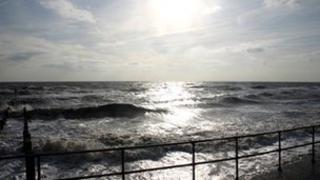 Coast off Southwold