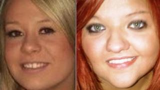 Sasha Jarvis (left) and Sian Gwenllian Davies (right) died on New Year's Day
