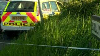 The collision involved a tractor and a motorbike on the Sallybush Road
