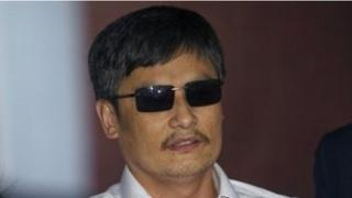 Chinese activist Chen Guangcheng is now in New York