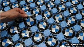 BMW badges