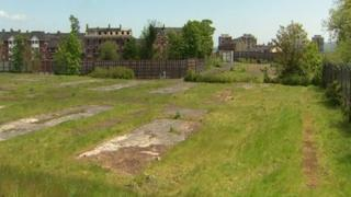 The former Girdwood Barracks site