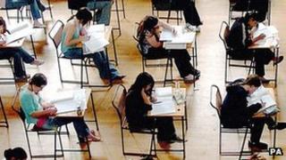 Students sitting exams (generic)