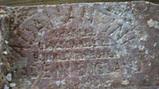 The brick discovered off Sir Lanka
