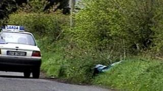 Mr Lockard's body was found at the side of a road in County Louth
