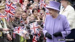 Queen visit, Yeovil Nine Springs