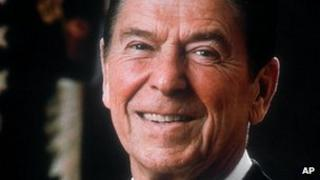 Ronald Reagan in an official White House picture 1981