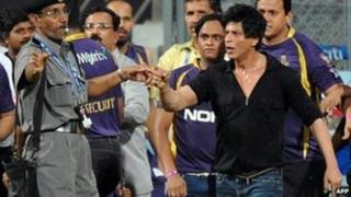 Shah Rukh Khan at Wankhede stadium