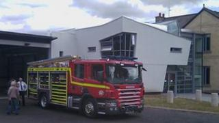 Diamond Jubilee Fire and Rescue Station at Carrow, Norwich