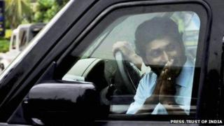 Jagan Mohan Reddy was arrested on Sunday 27 May 2012