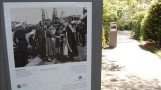 Exhibition of photos of Queen Elizabeth's visits to Guernsey at Candie Garden