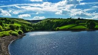 Lower Laithes Reservoir near Keighley