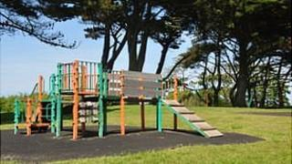 Play area at Delancey Park