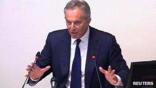 Tony Blair at Leveson Inquiry