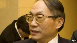 China's former railway minister Liu Zhijun (file photo)