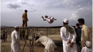 Pakistani men in