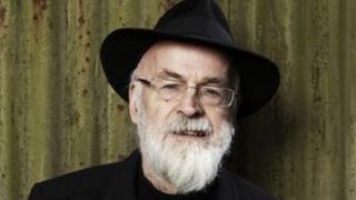 Sir Terry Pratchett pictured in 2011