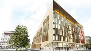 Artist's impression of the University of Strathclyde's Technology and Innovation Centre